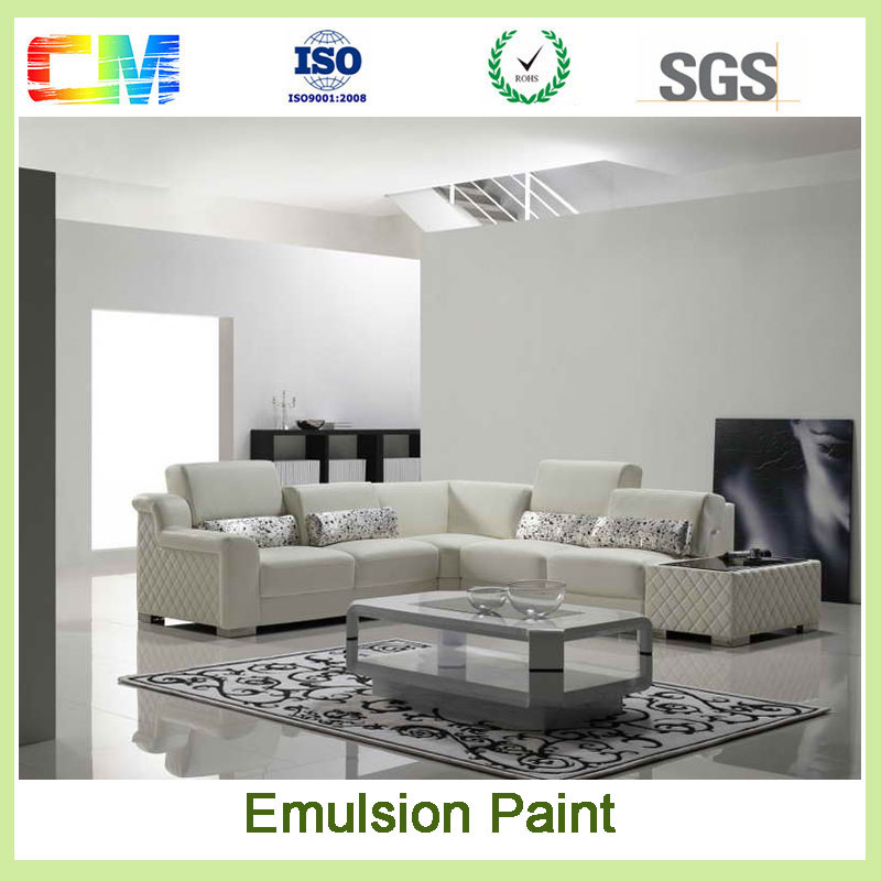 Building project UV proof weather resistant low voc washable spray waterproof wall emulsion paint