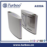 Turnstile A222A: access control system baffle gate flap turnstile