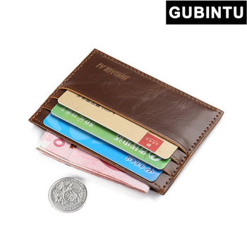 Gift PU Leather Credit Card Holder