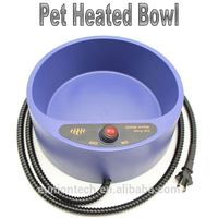 Hot sale dog best heat resistant pet feeder thermal bowl