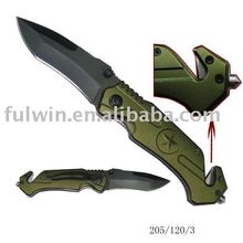 Emergency survival knife, Pocket knife