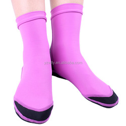 High quality neoprene lycra aqua dive sock and shoes / boots uk