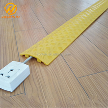 Wholesale Durable Yellow or Black 1 Channel PVC Cable Management/Cable Guard/Cable Tray