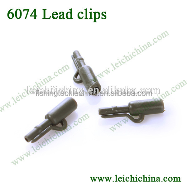 High quality Carp fishing terminal tackle lead clips