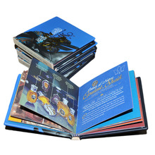 customized cheap matte art paper hardcover pocket book printing