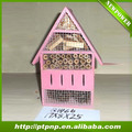 Pink 2014 hot sale Wooden insect House