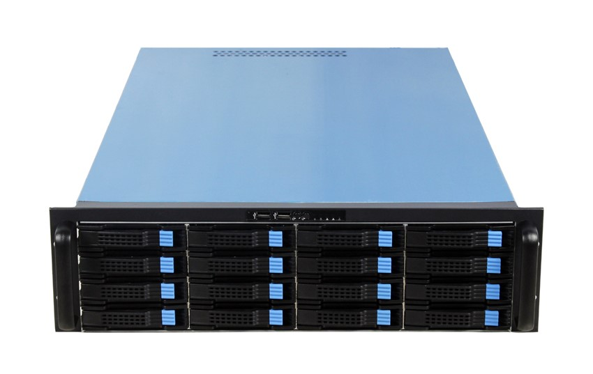 Hot DAOHE 3U 16 Bays Hot swap Server Case Big Storage rackmount Chassisi Hot Sale