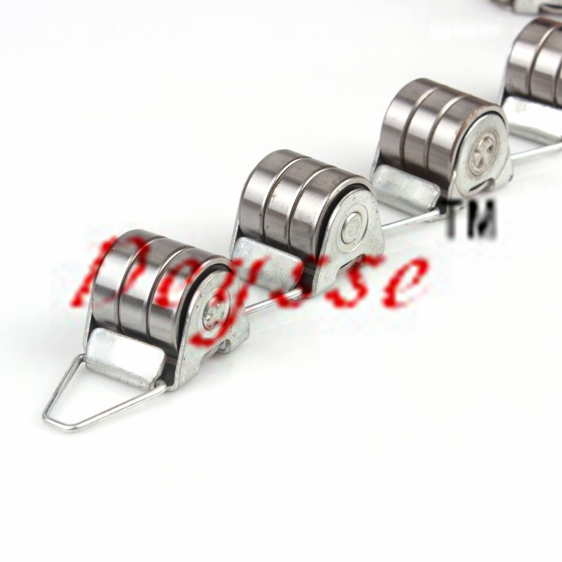 3pcs 6000bearings 17Joints/set Rotary Chain for Escalator Handrail Reversing Chains