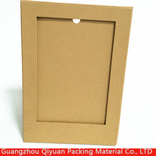 2016 new style high quality design stand digital kraft paper picture photo frame