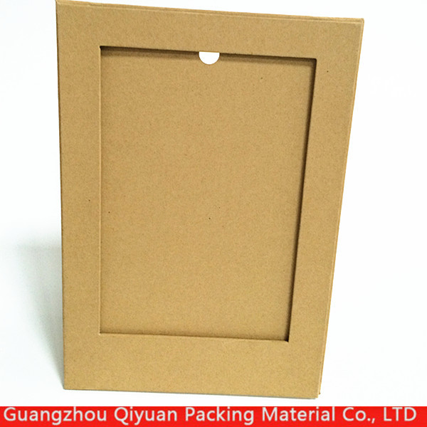 Custom new style high quality design stand digital kraft paper picture photo frame