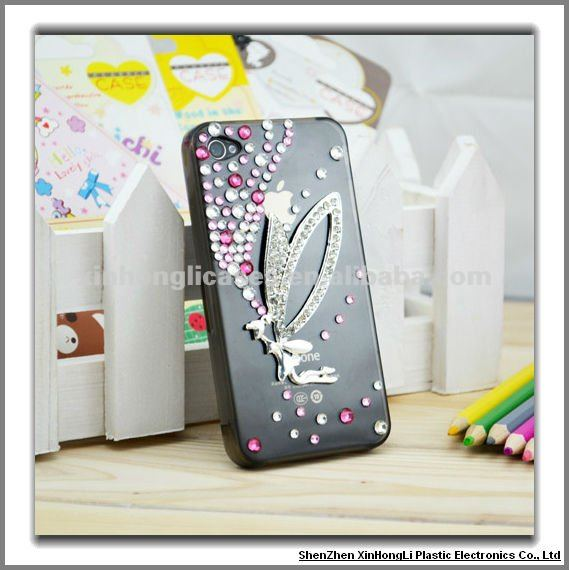 Mobile phone accessories, Diamond cases cover for iPhone 4G