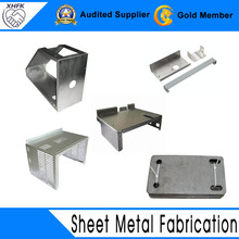 Perforated aluminum stainless steel 304 sheet metal box fabrication