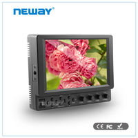 7 inch bnc input hdmi component dslr external monitor