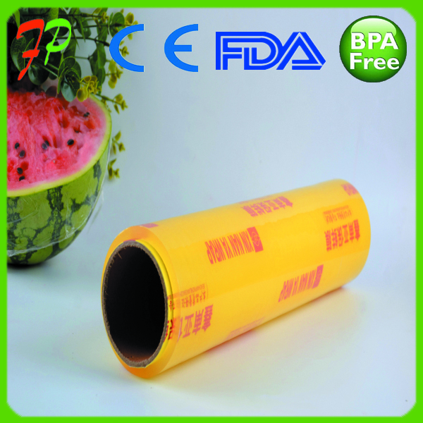 cling food wrap clear plastic wrapping pvc stretch film