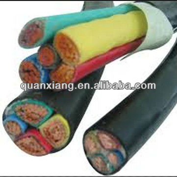 Different voltage scope of copper armoured multi core power cable