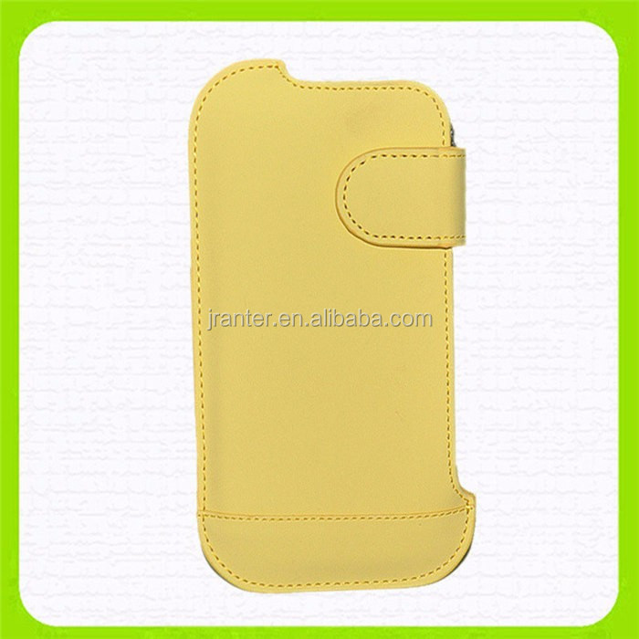 Design Mobile Phone Case for iPhone 4 Pouch Leather Custom Case for iPhone 4s