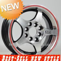 Oh,13'' rims,Red ring wheel,Beautiful aftermarket wheel.Good price for wholesale