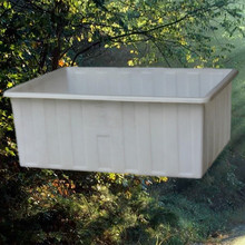 150 litres plastic water feed trough for horse