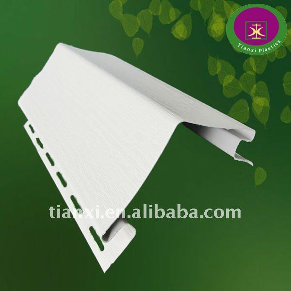 PVC profile of vinyl siding panel board