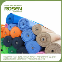 RS NONWOVEN anti static waterproof polyester nonwoven dust collector filter cloth in roll