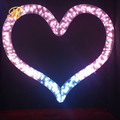 Fancy heart shaped motif light for wedding decoration