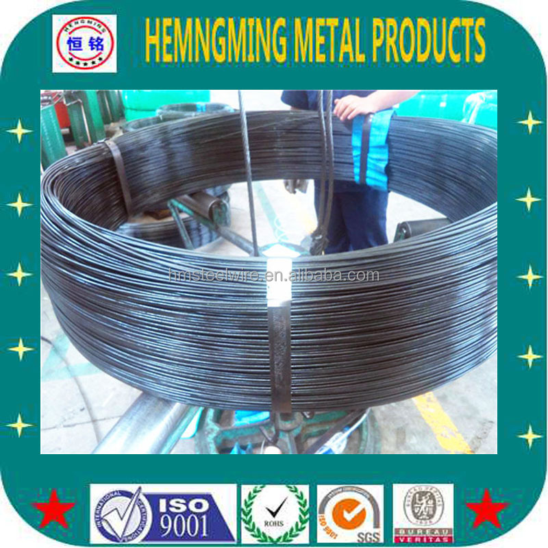 55CrsiA and 65Mn best price alloy oil tempered spring steel wire