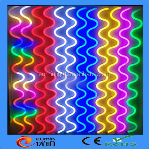 Indoor Outdoor 50ft 110V Cool White/Red/Blue/Green Flex LED Neon Rope Light Holiday