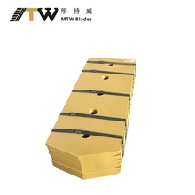 High quality dozer blades cutting edge and end bits 9W4494 for excavator,dozer