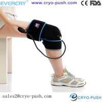 knee cold sleeve /ice pack/ cold wrap for knee joint and muscle acute injury