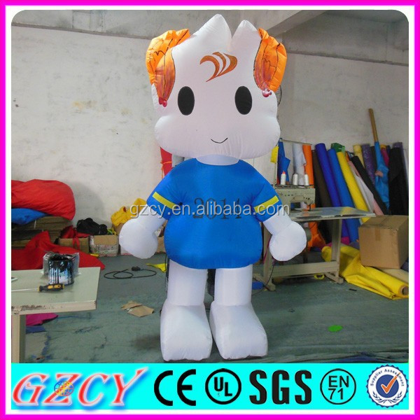 2015 New walking inflatable mascot