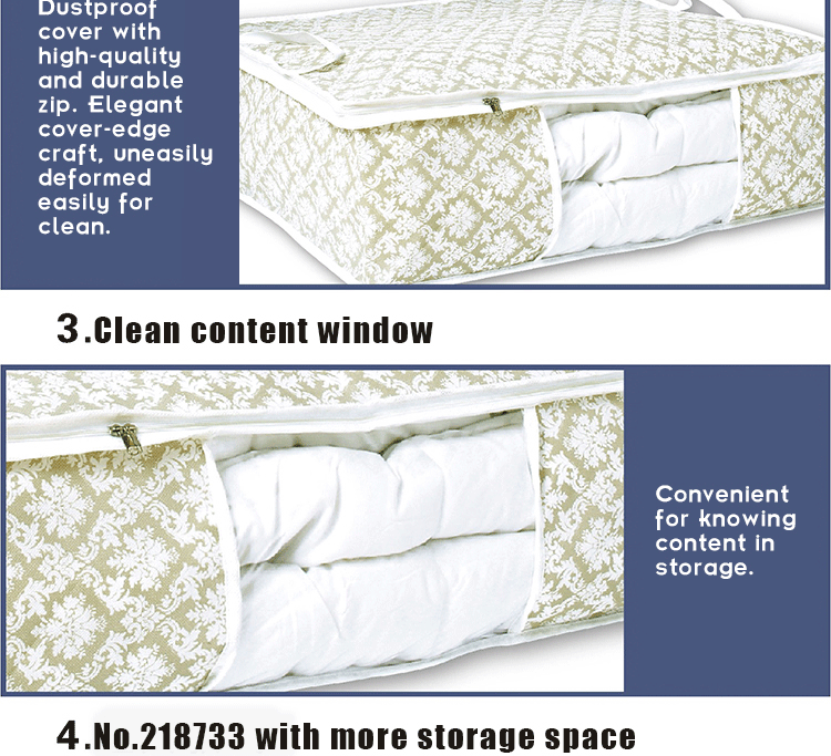 Hanging Foldable New design Multiple Nonwoven Quilt Storage Box