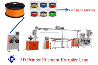 3 D Printing PLA /ABS Filament Extruder Production Line For 3D Printing