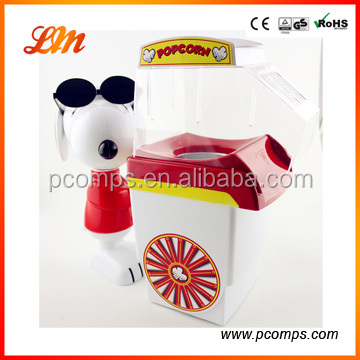 2014 Newest Snoopy Hot Air Popper Popcorn Machine with CE/GS/ERP/LFGB/DGCCRGF