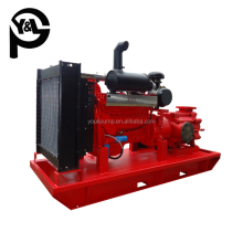 Diesel engine booster cast iron centrifugal irrigation water pump