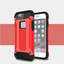 In Stock TPU PC Combo Armor Hard Case For iphone 6 Slim Protective Cover For Iphone 6s