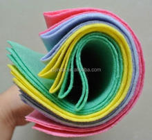 recycled pet non-absorbent non woven felt fabric