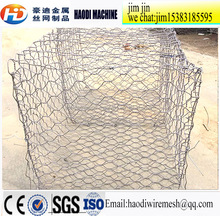 anping haodi High quality cheap Rock Basket Wire Mesh / Stone Cage/ retaining wall / Maccaferri Gabion