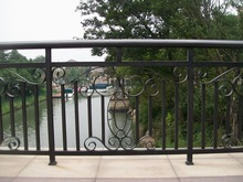 faux wrought iron fence,gates and steel fence design,galvanized steel fence