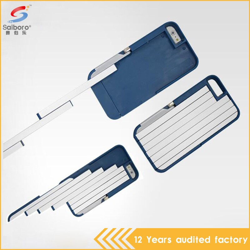 High quality design free sample phone case with selfie stick for iphone