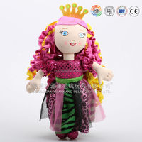 Lovely Plush princess toys with crown,princess accessories toys for girls,hot girl pictures for kids