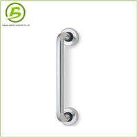 Iron Door Pull Handle With Lock