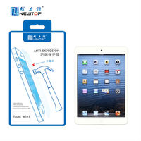 Touch screen film in tempered glass screen protector for Ipad mini