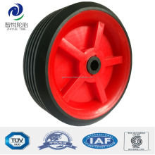 3.5 inch small solid rubber wheels for carts, luggage cart