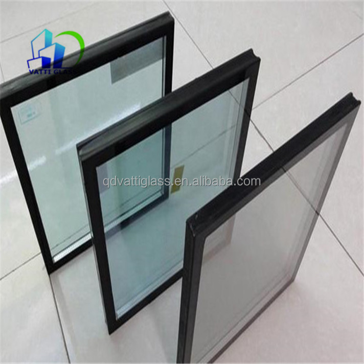 Low e coating double pane tempered glass tempered for 10 pane glass door