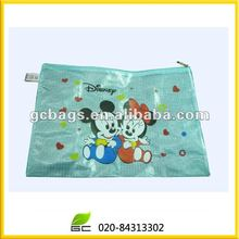 Mickey Mouse pvc mesh bag with zipper factory