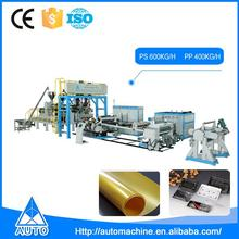 High-Speed Small Automatic Plastic Film Sheet Extrusion Extruder Machine