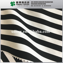 Zhejiang Summer cloth stripe yarn dyed cotton spandex twill t-shirt fabric price men women