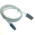 Coiled Micro USB Charger Cable Retractable Portable V8 Data Sync Charging Cord For Samsung
