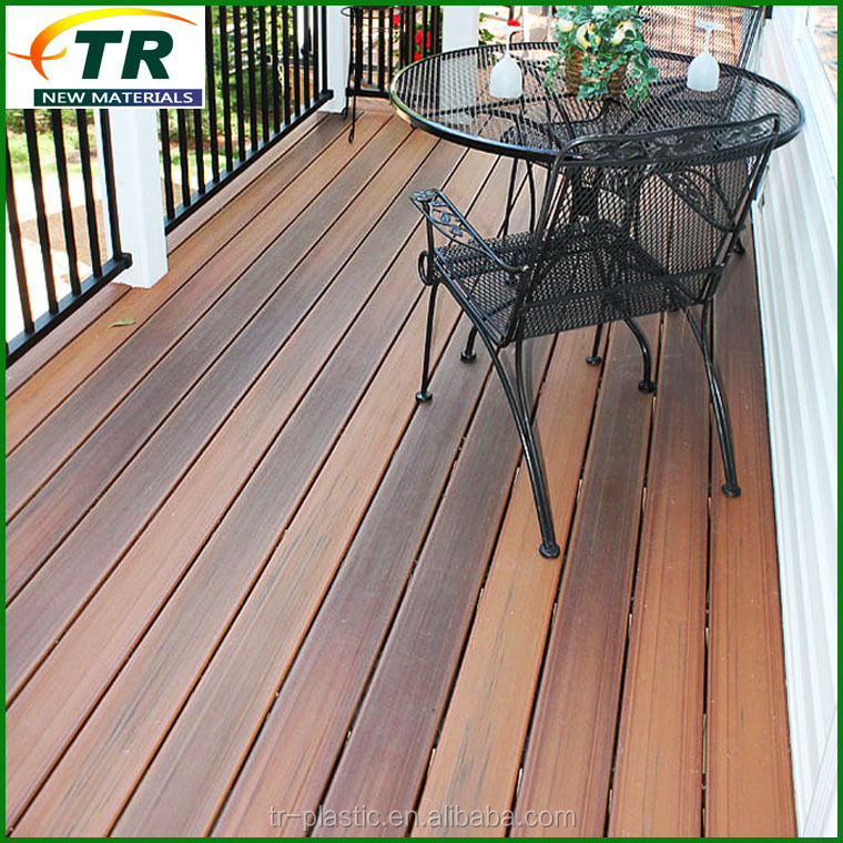 wood polymer composite deck boards