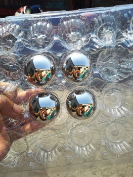 Wholesale mirror high grade 100 stainless steel beads SUS316 steel ball 1-1/2 inches 38.1mm